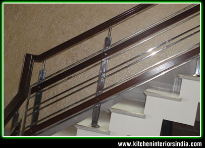 Upstair Railing manufacturers punjab India