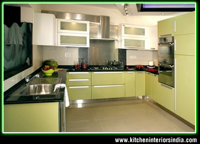 Modular kitchen interiors, manufacturer in punjab, aluminium kitchen ...
