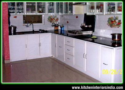 Modular kitchen interiors manufacturer in punjab for Kitchen 95 ludhiana